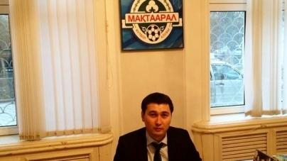 Мейіржан ЕСЕНҒАРАЕВ «Мақтаарал» футбол командасының президенті болып тағайындалды!!!