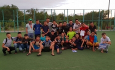 Астана қаласының 20 жылдық мерейтойына орай 7 шілде күні жайдарманшылардың арасында футбол ойыны өткізілді